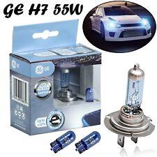 2x GE H7 55W 12V PX26d Sportlight Ultra +50% Blue Scheinwerfer Birne + 2x W5W