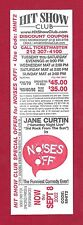 """Jane Curtin """"NOISES OFF"""" Peter Gallagher 2002 Broadway Promo Discount Ticket"""
