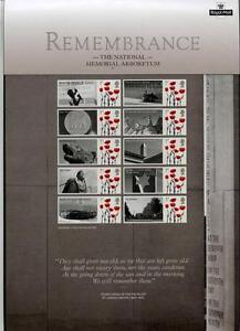2010 Remembrance Smilers sheet,CS12