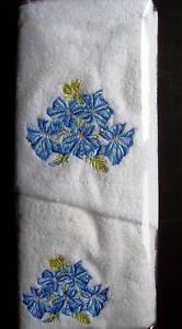 AUSTRALIAN FLOWER NO 5 HAND  TOWEL & FACE WASHER- B/NEW