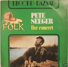 "PETE SEEGER ""LIVE CONCERT"" lp Italy mint"