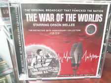 THE WAR OF THE WORLDS Starring ORSON WELLES Original Broadcast on CD H.G. Wells