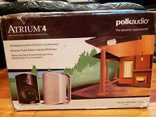 New listing Polk Audio Atrium 4 Outdoor Speakers (pair) White - Fast Free Shipping