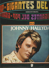 JOHNNY HALLYDAY-VINYLES MADE IN ESPAIN-GIGANTES DEL POP-VOL.38- EN TRES BON ETAT