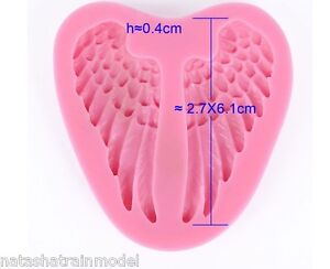 Stampo in silicone ali per angelo o bambino wings shape