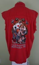 Bikers Edge Sleevless Red Shirt 105th Anni Play Now Pay Later Milwaukee Medium