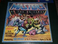 Masters of the Universe 3-D action board game VTG He-Man 1983