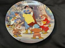 Happy Ending collector plate Snow White And Seven Dwarfs #12 Disney
