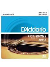 Set corde per chitarra acustica D'addario EZ910 Tensione light
