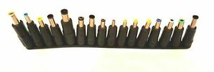 16 Tips Heads Universal Adapter AC DC Power Supply Charger Multi Laptop Notebook