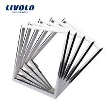 LIVOLO EU Standard Silver Color Socket Accessory Decorative Frame
