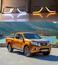 2x LED Fog Light Lamp Daytime Running Light Set For Nissan Navara NP300 2015-18