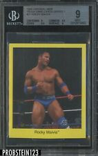 1998 Cardinal WWF Wrestling Trivia Game Series 1 #21 Rocky Maivia BGS 9