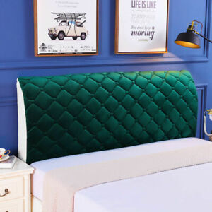 Thicken Plush Head Cover King Queen Size All-inclusive Headboard Protector Cover