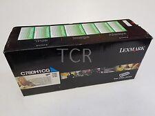 Lexmark Genuine C780H1CG Cyan Toner Cartridge to suit C780 C782 X782