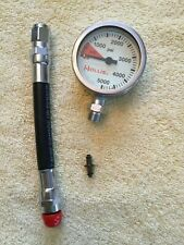 HOLLIS Brass SPG Submersible Pressure Gauge PSI without Boot & Hose