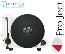 Pro-Ject VT-E BT R Stylish Vertical Bluetooth Turntable With Ortofon in White
