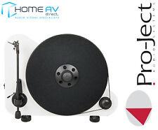 Pro-Ject VT-E BT R Elegante Vertical Bluetooth Tocadiscos con Ortofon en Blanco
