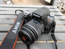 Sony Alpha DSLR-A550 Digital SLR CAMERA w/ 18-55 Sam Lens, Battery, Charger
