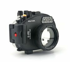 40M 130ft Underwater Diving Waterproof Housing Case for Olympus E-P5 EP5 17mm