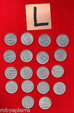10 lire 18 monete 1951 52 53 54 55 56 72 73 74 75 76 77 78 79 80 81 82 85 vendo