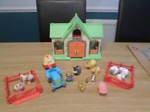 ELC  HAPPYLAND GOOSEFEATHER FARM WITH EXTRA ANIMALS FREE UK POST