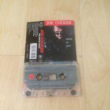 JOE COCKER - UNCHAIN MY HEART (UK CASSETTE/TAPE ALBUM)