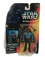 Star Wars The Power Of The Force, Lando Calrissian, 1995, Kenner Tonka, New