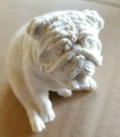 English  bulldog Statue solid figure