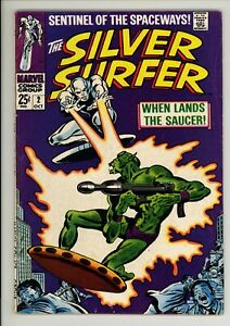 Silver Surfer 2 - Early Appearance - Silver-Age Classic - 6.0 FN