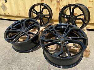 "19"" VW Golf GTI TCR style Gloss Black alloy wheels Golf Caddy Leon Brand new"