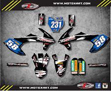 KTM 50 SX 2016 2017 Full  Custom Graphic Kit - SAFARI STYLE - decals stickers