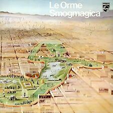 LE ORME Smogmagica (Ltd. ed.white & yellow vinyl)  LP Italian Prog