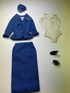 Vintage Barbie American Airlines Flight Stewardess Outfit 984 1961-1964