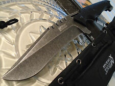 Mtech Xtreme Military Serpent Fighter Bowie Knife 6mm Full Tang 440C G10 8122SW