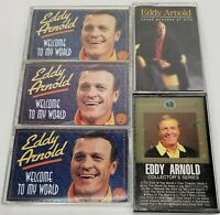 Eddy Arnold Lot of 5 Cassetts collection