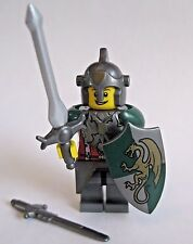 Lego Custom KNIGHT PALADIN Dragon Templar Minifigure W/ Weapons and Armor