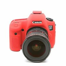 easyCover Armor Protective Skin for Canon EOS 6D - (Red)