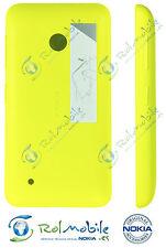 Carcasa Tapa Batería Trasera Nokia CC-3084 para Nokia Lumia 530 Amarilla 02507L3