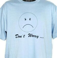 88342bdd Dont Worry Be Happy T Shirt Vintage 80s Smiley Face 50/50 Made In USA