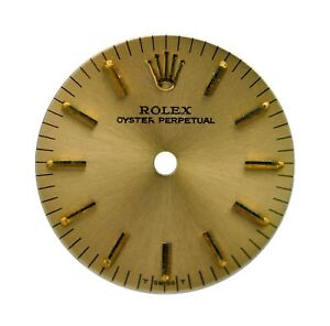 Vintage Orig. NOS Lady's Rolex Oyster Perpetual Wristwatch Dial
