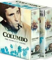New COLUMBO The Complete Series (DVD 34-Disc Set) Season 1-7 New Sealed Box Set