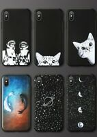 Cat Fish Phone Cover Samsung Galaxy Star J5 A5 A6 A7 A8 A9 Soft Case Accessory