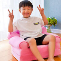 Crown Chair Seat for Children Cute Cartoon Folding Chairs Baby Sofa Cover
