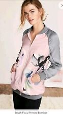 BNWT* Next* Size 14  Women's blush bold floral printed  light bomber jacket,New