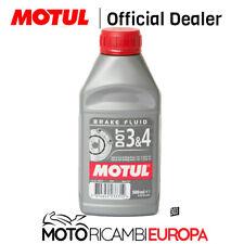 Motul Brake Fluid Dot3 / Dot4 500ml (can)