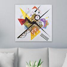"""WANDKINGS Leinwandbild Wassily Kandinsky- """"Auf Weiß II"""""""