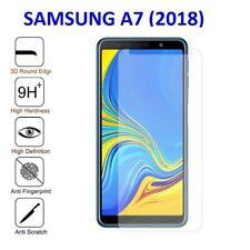 Samsung Galaxy A7 2018 Tempered Glass Screen Protector 100% Genuine Case Friendl