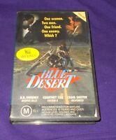 BLUE DESERT VHS PAL COURTNEY COX CRAIG SHEFFER