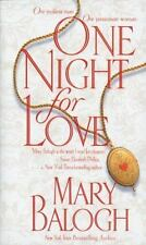 Bedwyn Saga Ser.: One Night for Love 1 by Mary Balogh (1999, Paperback)